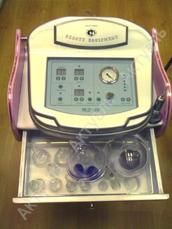 Аппарат для вакуумного массажа ms 05 латышское женское белье